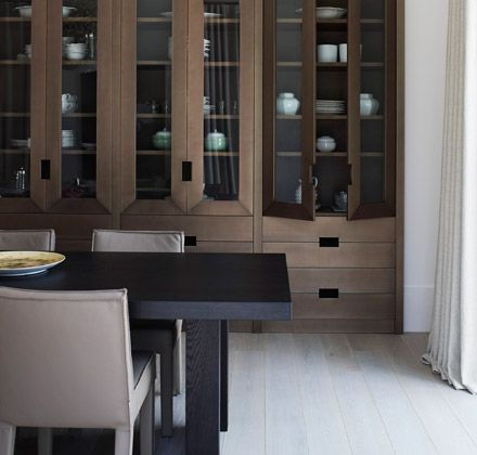 Piet Boon, Millwork, Integral Pulls, Finish, Dining Room