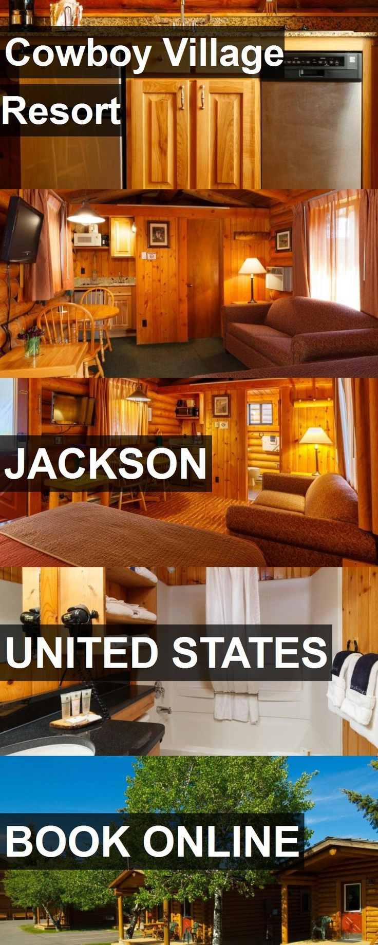 Hotel Cowboy Village Resort in Jackson, United States. For more information, photos, reviews and best prices please follow the link. #UnitedStates #Jackson #CowboyVillageResort #hotel #travel #vacation
