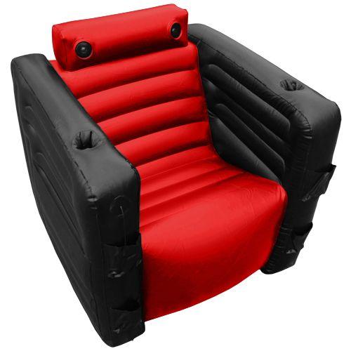 Everything Chair II Oppblåsbar lenestol fra Gamezone. Om denne nettbutikken: http://nettbutikknytt.no/gamezone-no/