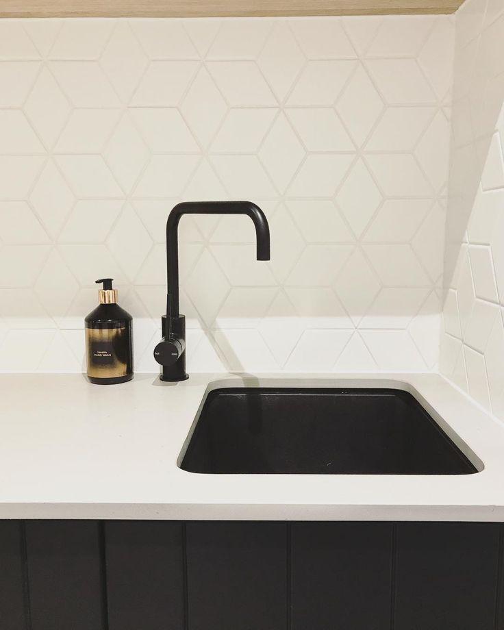 Laundry Tile, Sink & Tap Inspiration
