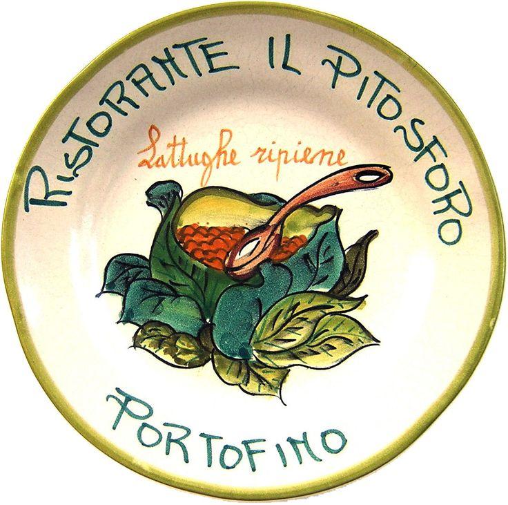 Portofino - Ristorante Il Pitosforo: Lattughe ripiene (dic. 91 - nov. 93)