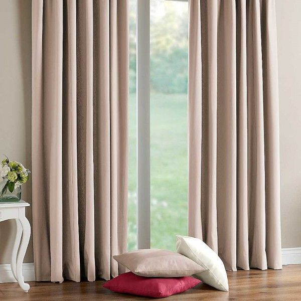 Buy Natutal Harrison Canvas Curtains. These curtains should fit to pole or track size of 210cms to 295cms.