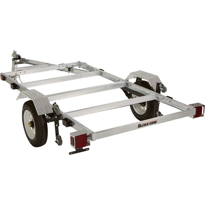 FREE SHIPPING — Ultra-Tow 4ft. x 8ft. Folding Aluminum Utility Trailer Kit — 1170-Lb. Load Capacity | Trailers| Northern Tool + Equipment