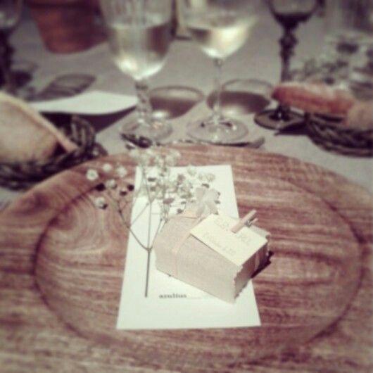 Regal pels convidats / Regalos para invitados de boda