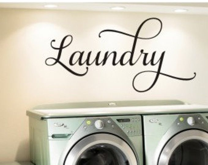 Laundry Room Sticker Wall Art Part   19: Marvelous Laundry Room Sticker  Wall Art Great Part 86