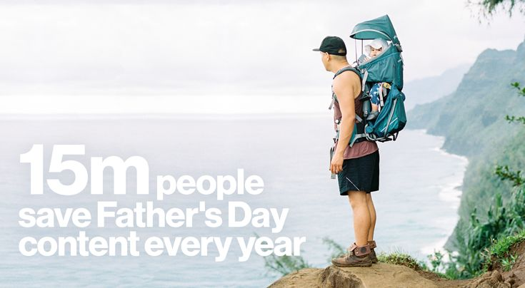 Help people celebrate the modern dad this Father's Day