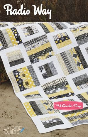 Fat Quarter Quilt Pattern.  But It Jumps From Twin Size To King Size...?          COLOR COMBO