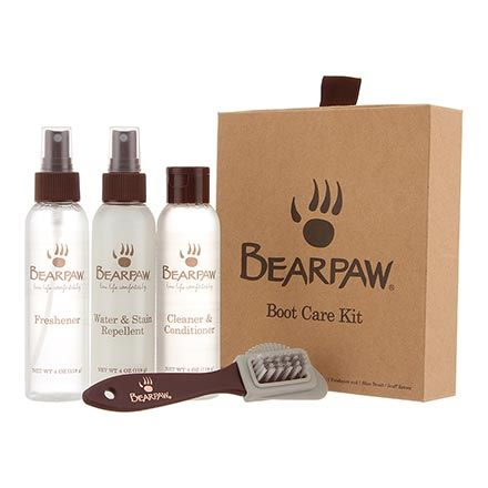 """Protect your sheepskin and suede from rain, snow, dirt and stains.  The products in this kit will clean, protect, refresh, and keep those """"Paws"""" looking like new."""