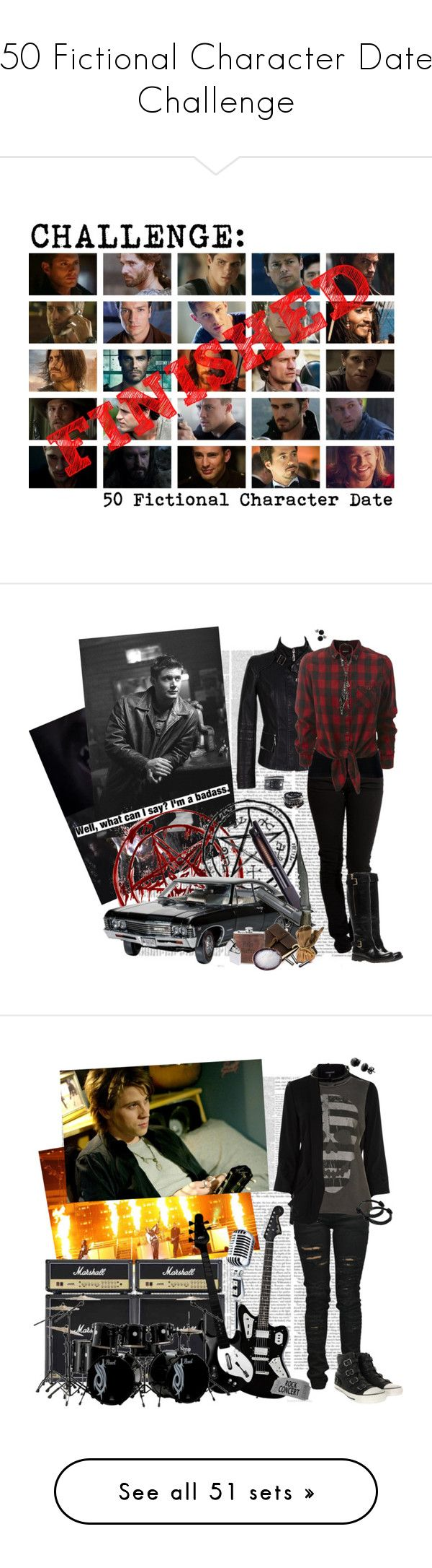 """""""50 Fictional Character Date Challenge"""" by phyxsius ❤ liked on Polyvore featuring art, Levi's, Valentino, Rustico, GUESS, KD2024, La Mer, Swesky, Warehouse and Denim of Virtue"""