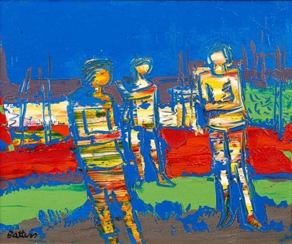 Walter Battiss, Three Figures