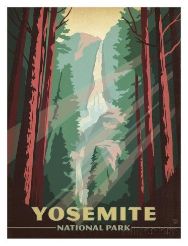 Yosemite National Park Prints by Anderson Design Group at AllPosters.com