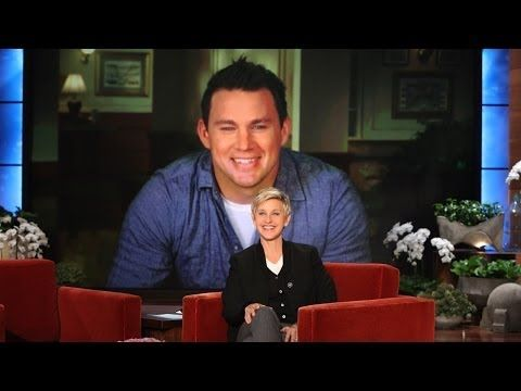 "Channing Tatum Live from New Orleans - Announces ""Team Oscar"" on Ellen!"