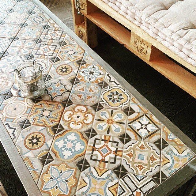Cultura Decó. Cerámica a la mesa VODEVIL: Octógono Musichalls Multicolor - 20x20cm. | Pavimento - Porcelánico | VIVES Azulejos y Gres S.A. #creativty #tile #decor