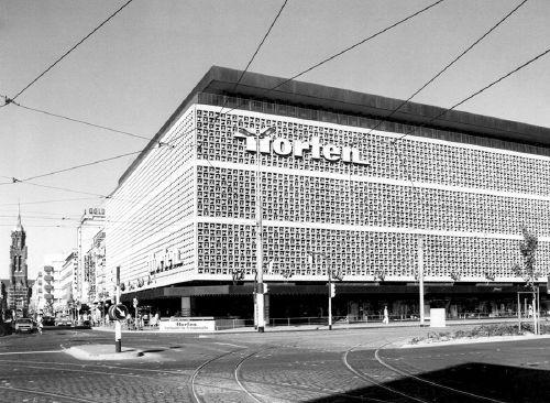dom towarowy horten arch helmut hentrich 1971 krefeld. Black Bedroom Furniture Sets. Home Design Ideas