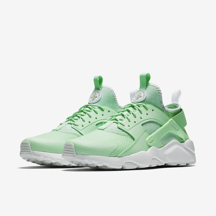 Nike Air Huarache Ultra in Fresh Mint/White/Pale Grey