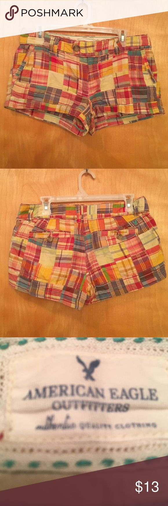 AMERICAN EAGLE OUTFITTERS patchwork shorts 🌺 AMERICAN EAGLE OUTFiTTER patchwork shorts. American Eagle Outfitters Shorts