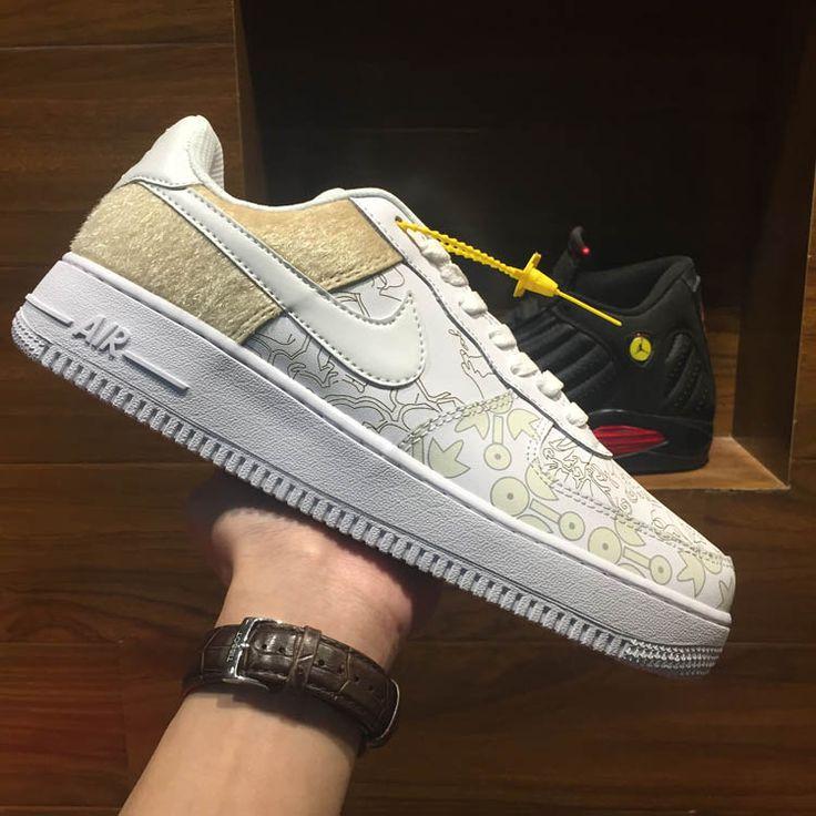 Nike Air Force 1 Mercedes Édition Présidentielle