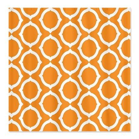 Orange curtain --Cafepress