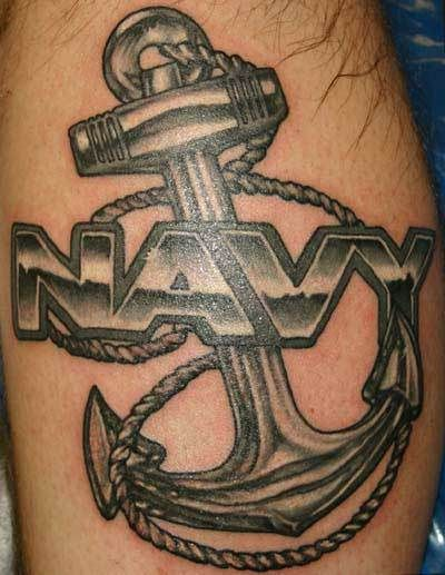 US Navy Shellback Tattoo | Anchor in religious terms represent a symbol of a hidden cross. It can ...