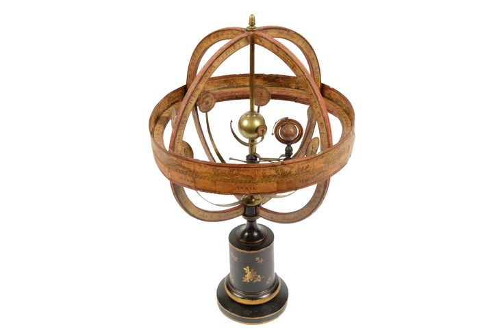 Very rare antique orrery half of the '800 attributable to Charles Dien.