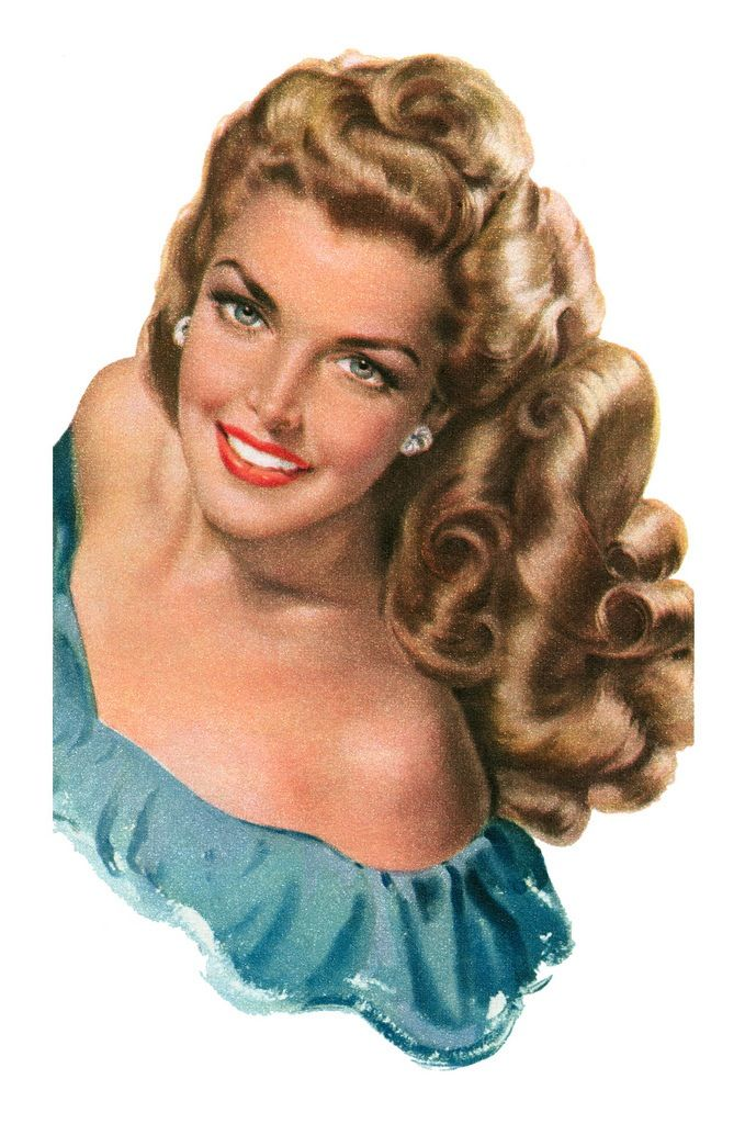 1949  She has enough hair for two people