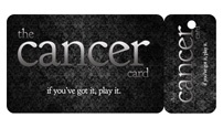"I have always joked that I should pull my ""cancer card"" at nice restaurants, airports, etc.  Who knew that there actually was one. Ordering this NOW."