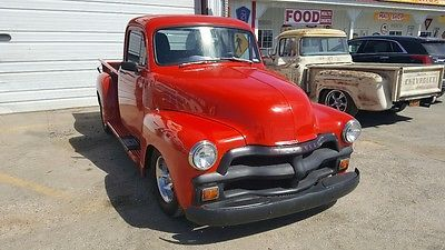 1954 CHEVROLET PICKUP SHORTBOX HALF TON STREETROD