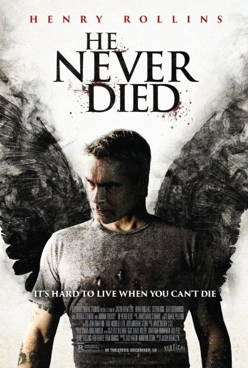 Henry Rollins in He Never Died (2015) Badass movie!! WATCH IT!!!!