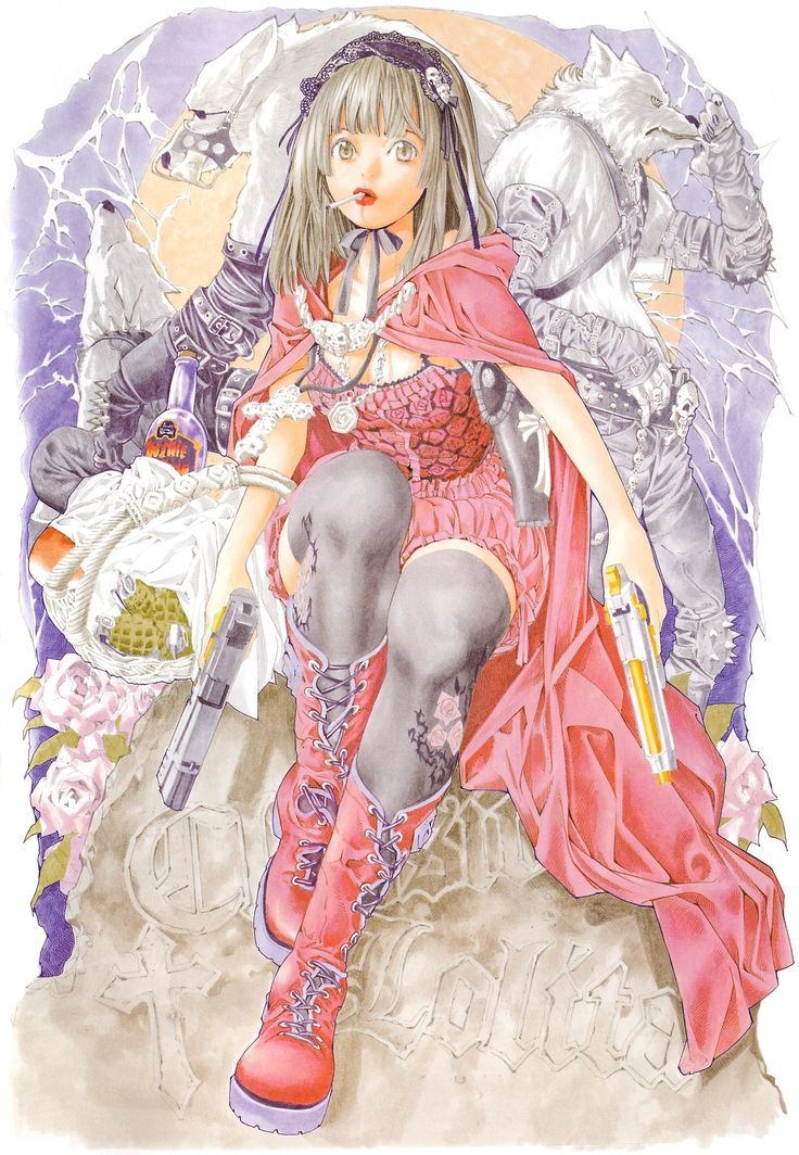 Le Petit Chaperon rouge (Red Riding Hood) by Takeshi Obata   小畑 健