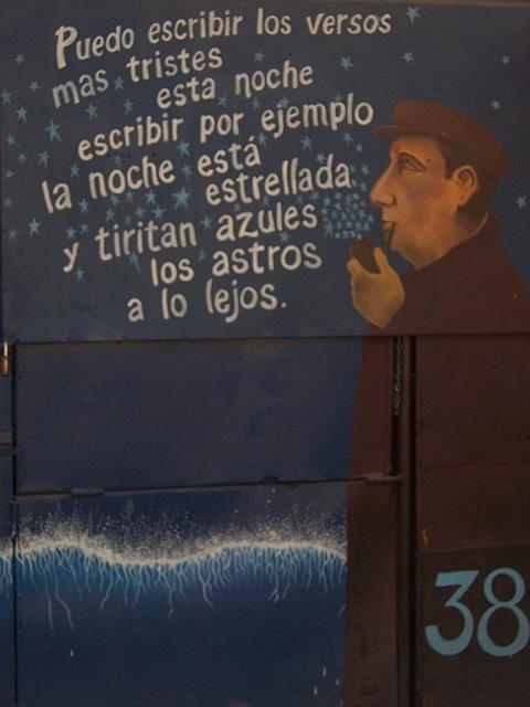 Santiago, Chile - Neruda