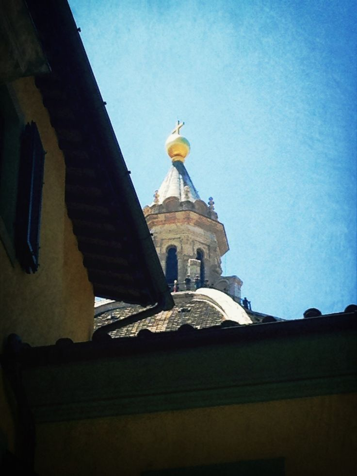 The Duomo, detail of the Cupola.