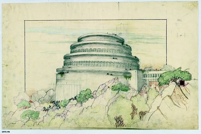 Frank Lloyd Wright | Unpacking the Archive: Frank Lloyd Wright at 150: Unpacking the #Archive #MOMA #Art #NewYork @MuseumModernArt #NYC