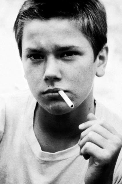 River Phoenix. Stand by me. Favorite movie. The moment he captivated me was in Stand By Me. I was 11 years old and I was in awe.