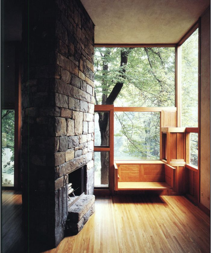 Norman and Doris Fisher House. Hatboro, Pennsylvania. Louis I. Kahn 1967.