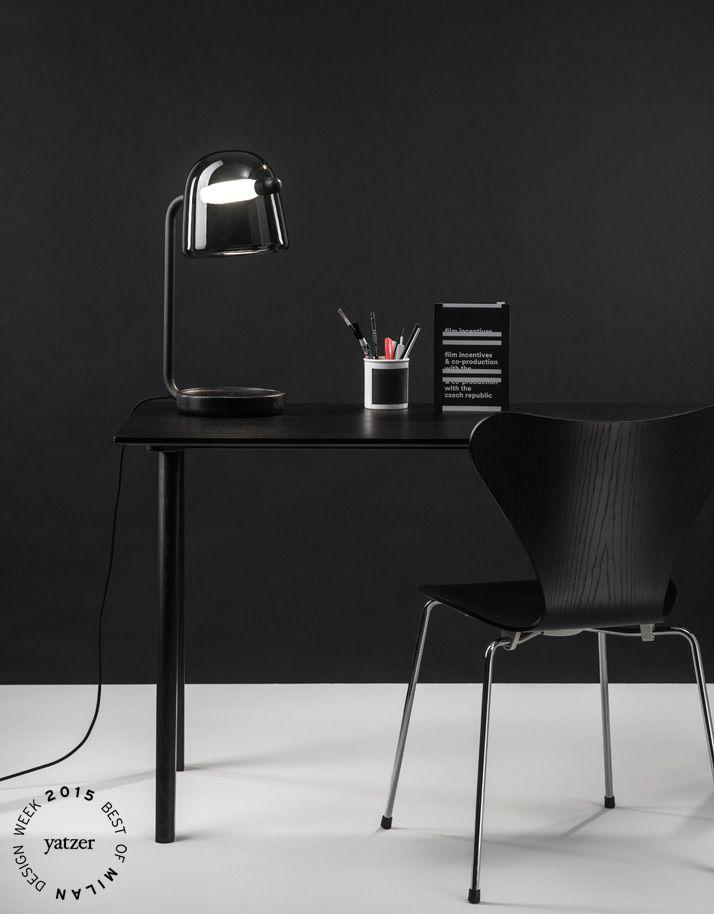 Mona table lamp by Lucie Koldová for Brokis_BEST OF MILAN DESIGN WEEK 2015   Yatzer