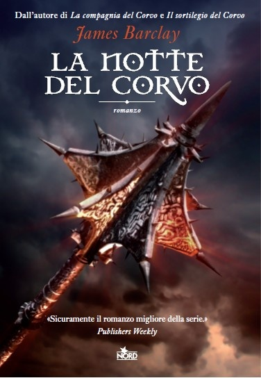 «L'Ignoto e i suoi compagni si trovano a dover fare scelte dolorose…  'La notte del Corvo' è sicuramente  il romanzo più maturo della serie.» Publishers Weekly