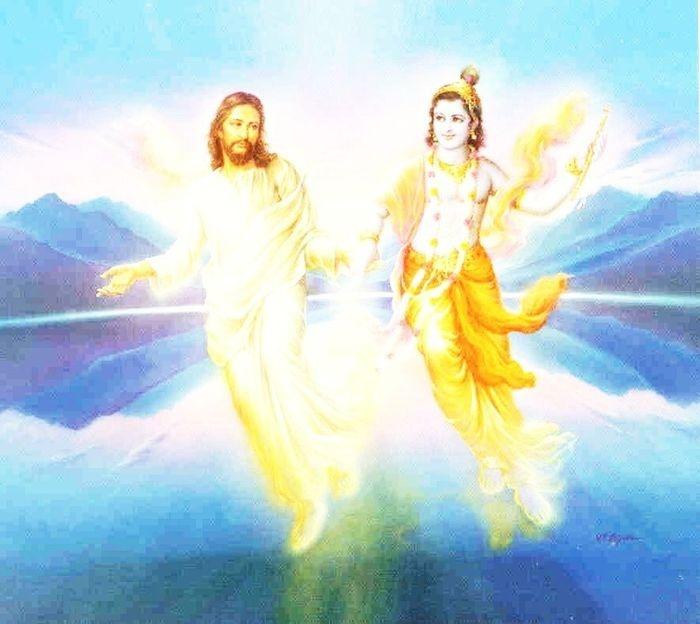Jesus and Krishna