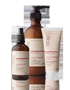 Trilogy Skin care Products with all natural ingredients