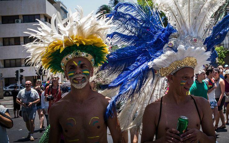 Tens of Thousand Celebrate Gay Pride in Tel Aviv