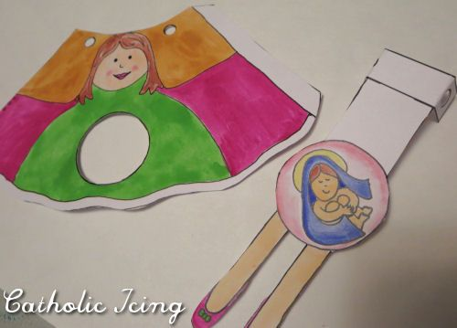 immaculate conception craft for kids