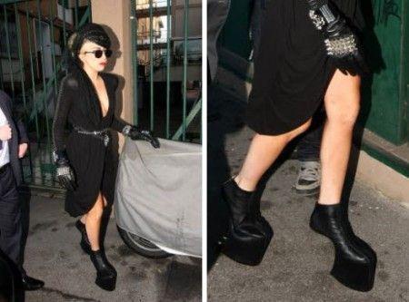 Lady Gaga con Armadillo di Alexander McQeuen