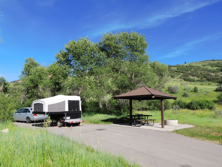 Diamond campground terrain #b053, Springville, Utah (2015)