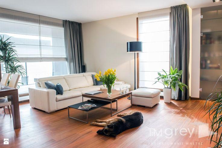 Salon styl Nowoczesny - zdjęcie od TiM Grey Projektowanie Wnętrz - Salon - Styl Nowoczesny - TiM Grey Projektowanie Wnętrz