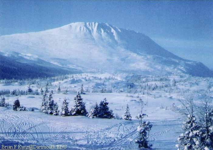 A winter accent of Gaustatoppen (2888m), the highest mountain in S Norway