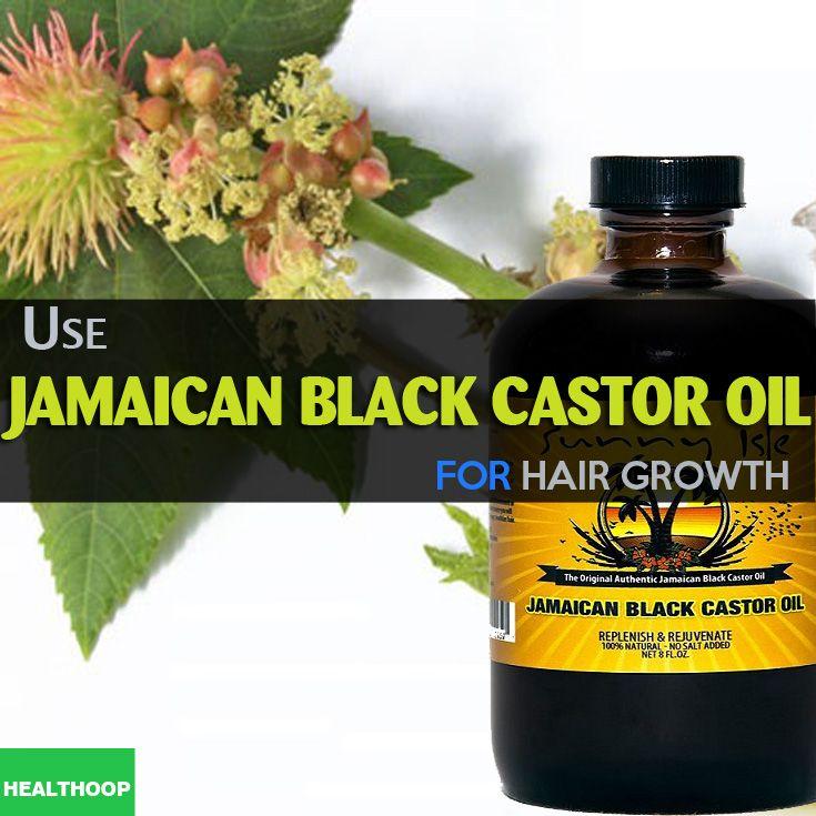 Use Jamaican black castor oil for hair growth