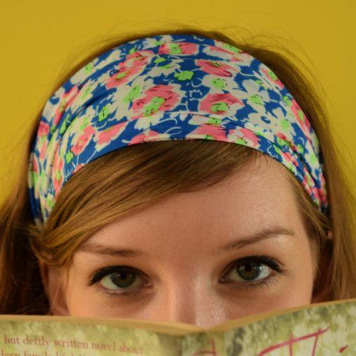 Punchy Flowers Headband #Colorize #ColorizeFashion