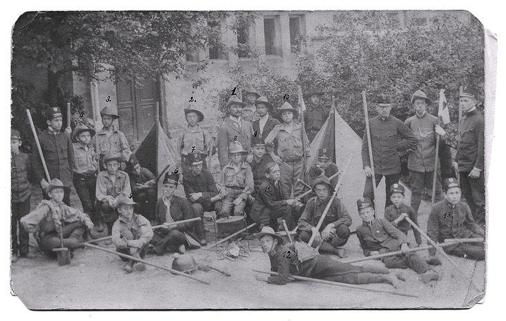 Skauci z Podgórza w 1912r