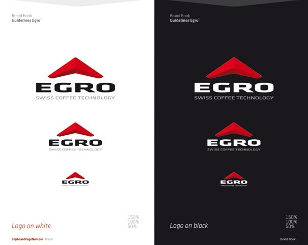Egro Corporate Design. Delabo Design Studio