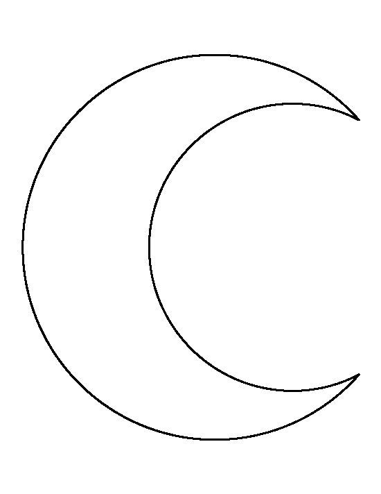 Tattoo Stencils Printable Moon: Best 25+ Crescent Moon Outline Tattoo Images On Pinterest