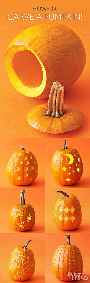 How To Carve a Pumpkin ~ 13 Expert Tips for Carving a Perfect Pumpkin